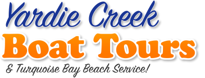 Yardie Creek Boat Tours & Turquoise Bay Beach Service!